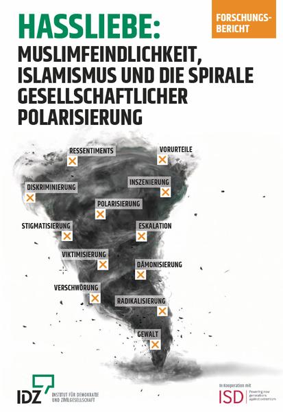 """Studie """"Hassliebe: Islamfeindlichkeit, Islamismus und die Spirale gesellschaftlicher Polarisierung"""""""