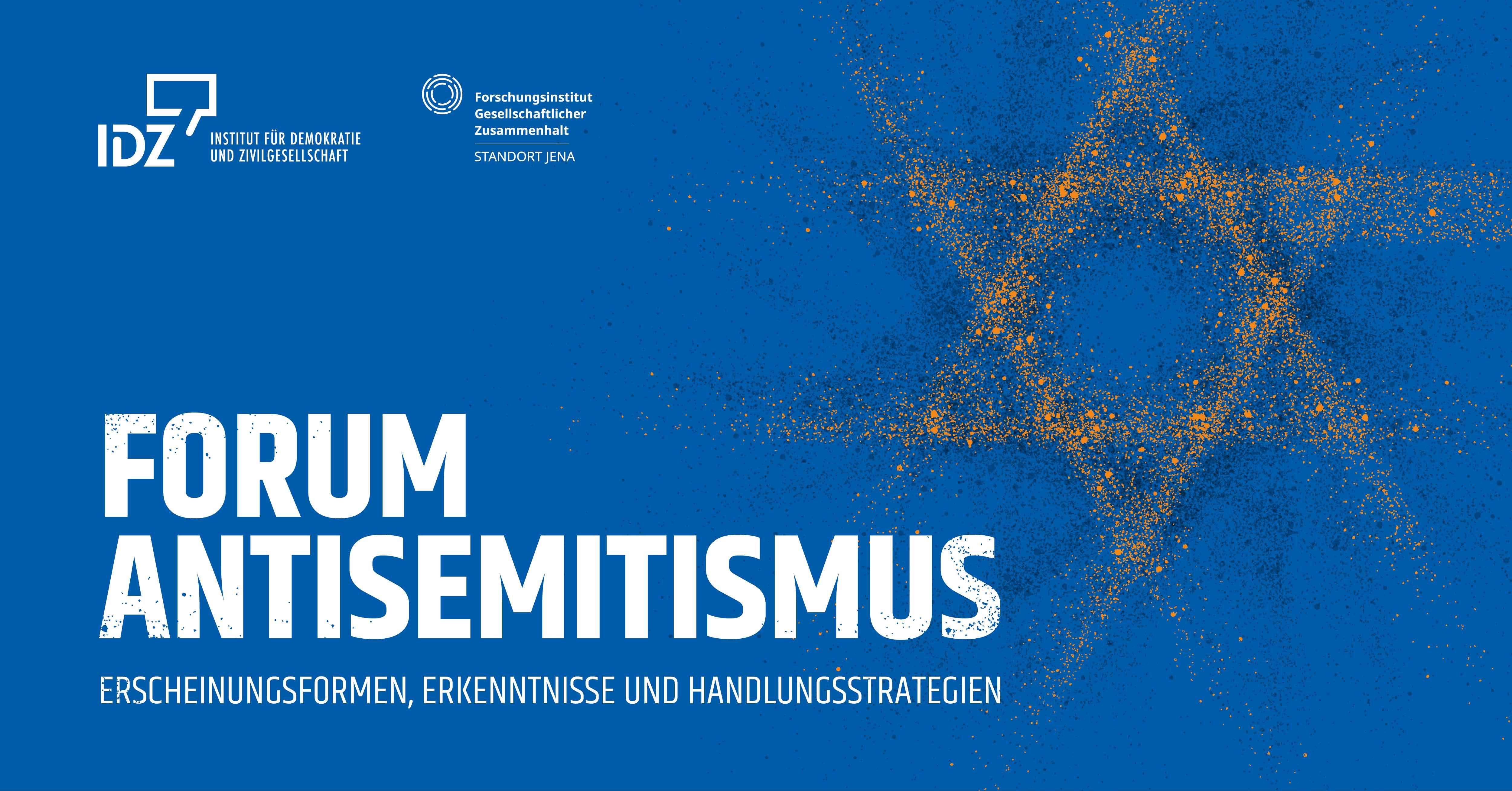Programm Forum Antisemitismus Insitut für Demokratie und Zivilgesellschaft